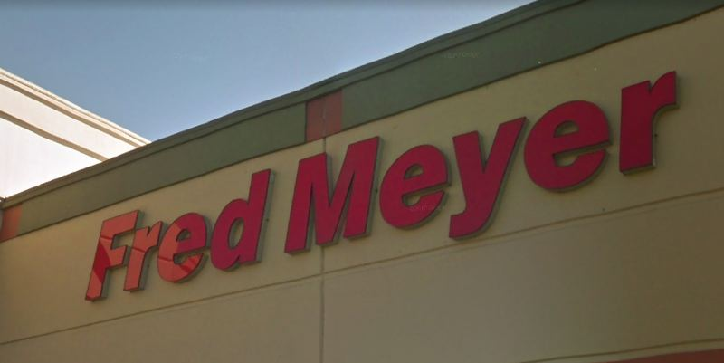 VIA GOOGLE MAPS - A Fred Meyer storefront sign is shown here at a location in Northeast Portland.