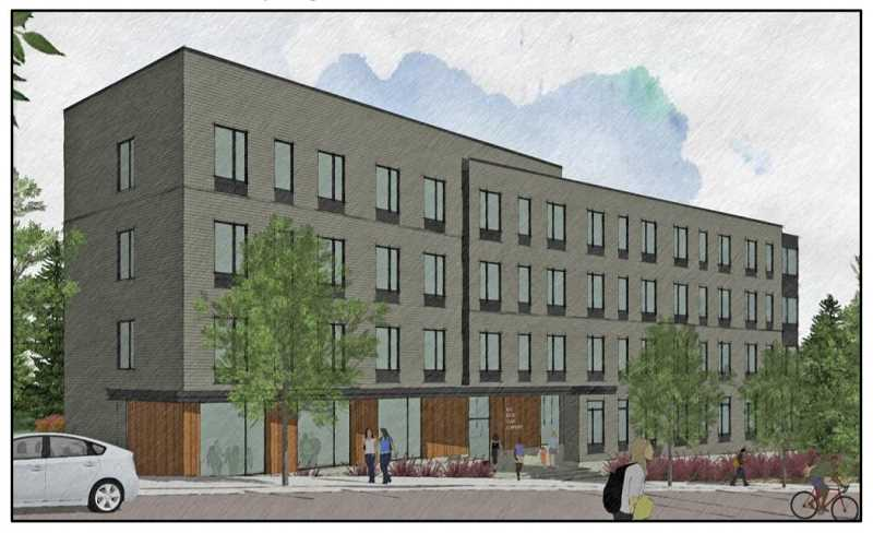 COURTESY COMMUNITY PARTNERS FOR AFFORDABLE HOUSING - A ground-breaking ceremony for Community Partners for Affordable Housings Red Rock Creek Commons community is  planned for Oct. 1.