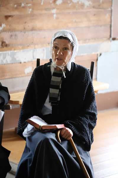 COURTESY PHOTO: MARY JO MORELLI - Bonnie McDowell will portray Tabitha Brown at the Fall Festival by the Friends of Historic Forest Grove at the A.T. Smith House on Saturday, Sept. 28, and Sunday, Sept. 29.