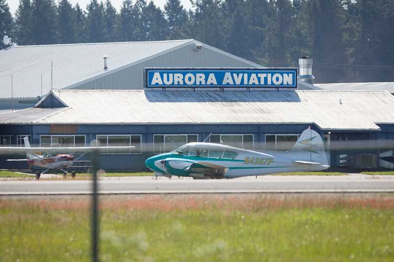 PMG FILE PHOTO - Wilsonville City Council wants more say in Aurora Airport planning.