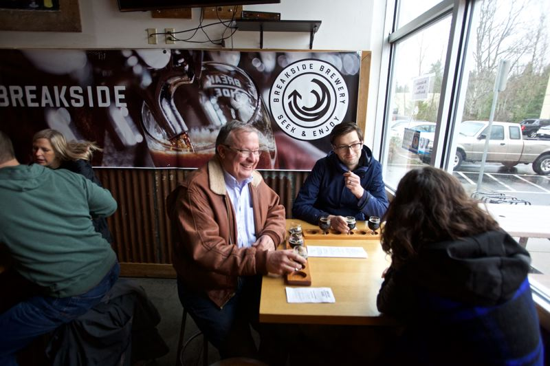COURTESY PHOTOS: CRAIG MITCHELLDYER - Breakside's brewery and taproom is located on International Way in Milwaukie.