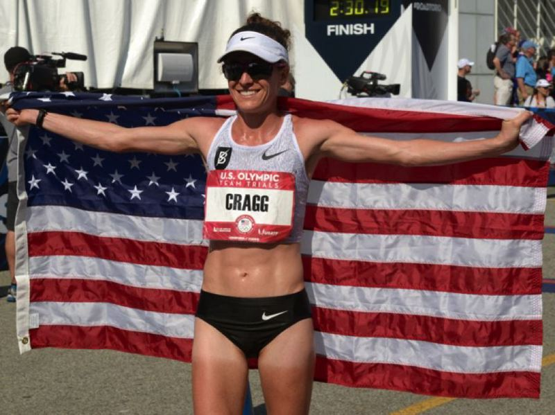 COURTESY PHOTO: AMY CRAGG - Amy Cragg of Portland, the 2017 world championships bronze medalist in the marathon, is hoping to make the U.S. team for the 2020 Olympic Games in Tokyo.