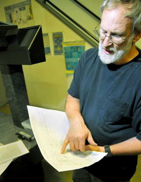 GRAPHIC FILE PHOTO - A.R.E. Manufacturing founder Alvin Elbert is adjusting to increased materials costs affecting his business.