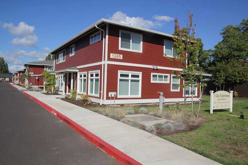PMG PHOTO: JUSTIN MUCH - Catholic Community Services Foundation currently operates Villa Esperanza, a 16 unit multi-family affordable housing complex located in Woodburn.
