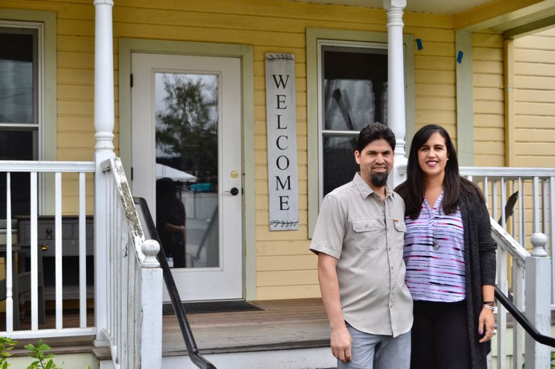 PMG PHOTO: BRITTANY ALLEN - Juan and Brie Escalante hope to open Le Happy location in Sandy by Thanksgiving.
