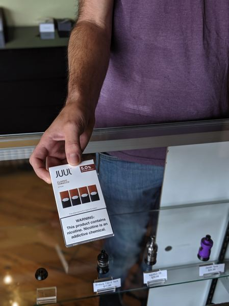 PMG FILE PHOTO - County health officials are urging residents to immediately stop using all e-cigarettes amid what they call a national health crisis tied to vaping.