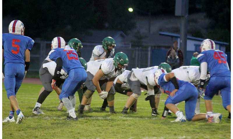 STEELE HAUGEN - Madras loses to Rainier 44-0 Sept. 20. (file photo)