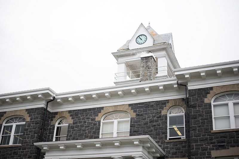 """PMG FILE PHOTO - Many county employees work out of the Columbia County Courthouse in St. Helens, next to the historic courthouse. Columbia County staff described the agency culture as an """"old boys network"""" in a recent survey."""