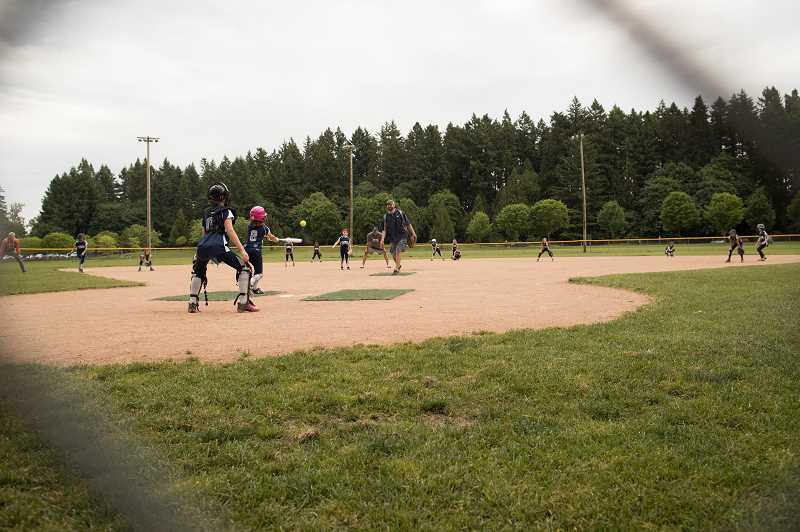 PMG FILE PHOTO - The Parks and Recreation department would like to replace Memorial Park grass fields with turf fields.