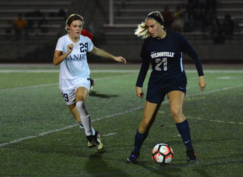 PMG PHOTO: DEREK WILEY - Wilsonville's Renee Lee scored two goals in the second half of the Wildcats 5-3 victory over Canby Thursday.