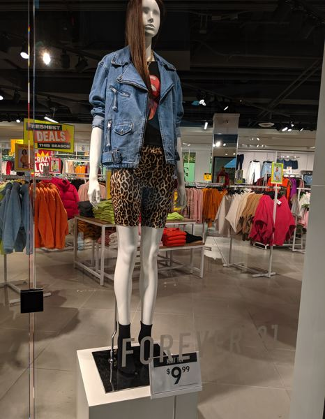 PAMPLIN MEDIA GROUP: JOSEPH GALLIVAN - Cheap and cheerful: Forever 21's Pioneer Place store the day after the Chang family announced the fast fashion retailer was filing for Chapter 11 bankruptcy and restructuring by closing stores and cutting staff.