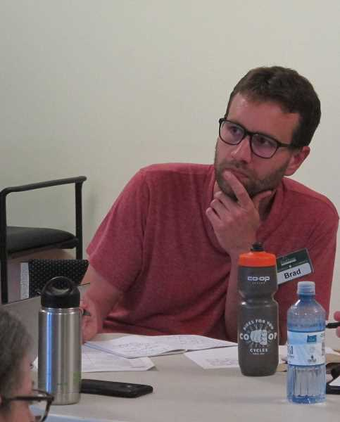 Brad Lynch is the interim general manager of the Food Front  Cooperative.
