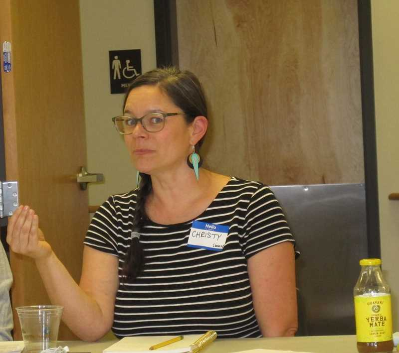 Christy Splitt chairs the Board of Director for the cooperative.