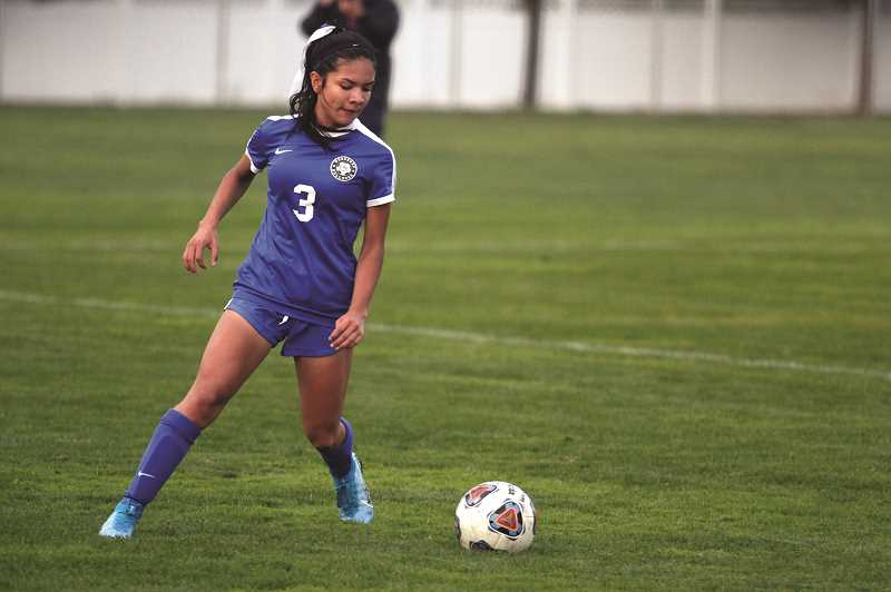 PMG PHOTO: PHIL HAWKINS - Yahaira Rodriguez scored three of Woodburns first four goals against Cascade last week and finished with a game-high four goals in the teams 8-0 victory.