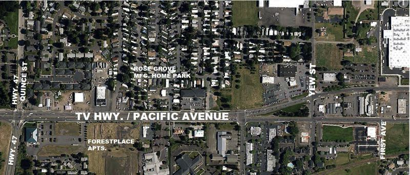 The East Forest Grove Safety Improvement Plan will make a section of Highway 8 betwen South Yew Street and Highway 47 safer for pedestrians, cyclists and other commuters.