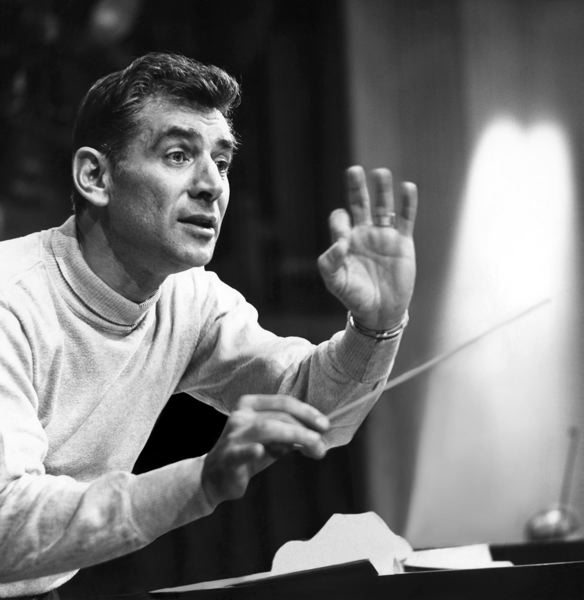 COURTESY: OJMCHE - On Leonard Bernstein, curator Bob Santelli said: 'There's never been a man in American culture who was so well-rounded and had so many genius traits.'