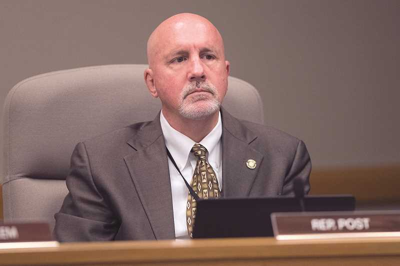 PMG FILE PHOTO - House District 25 Representative Bill Post raised more than $4,000 in the 48 hours after declaring his intention on Sept. 23 to seek a fourth term of office.