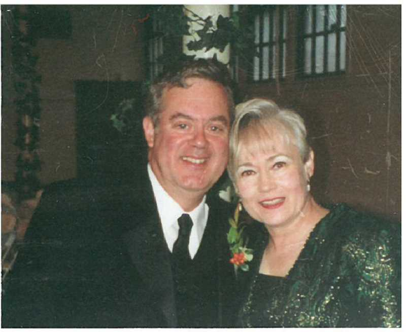 COURTESY PHOTO: THE FERRIGNOS - Bud Ferrigno and Sheri Ferrigno, who celebrated 50 years married in September, pose together at their son's wedding in October 2000.