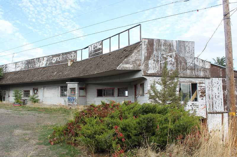 HOLLY M. GILL/MADRAS PIONEER - The historic Rock Shop, which was built in 1950, and was a popular Madras stop for decades, will be demolished this month. The city purchased the property and has approved the removal of the building.