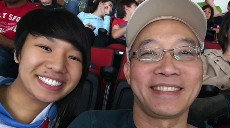 KOIN 6 NEWS IMAGE - Hoang Minh Tran and family.