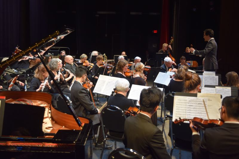 COURTESY PHOTO: MT. HOOD POPS ORCHESTRA - Ken Selden conducts the Mt. Hood Pops Orchestra, whose 2019-20 season kicks off on Oct. 13 with a varied program featuring music ranging from Dvorak to selections from the popular Hamilton musical.