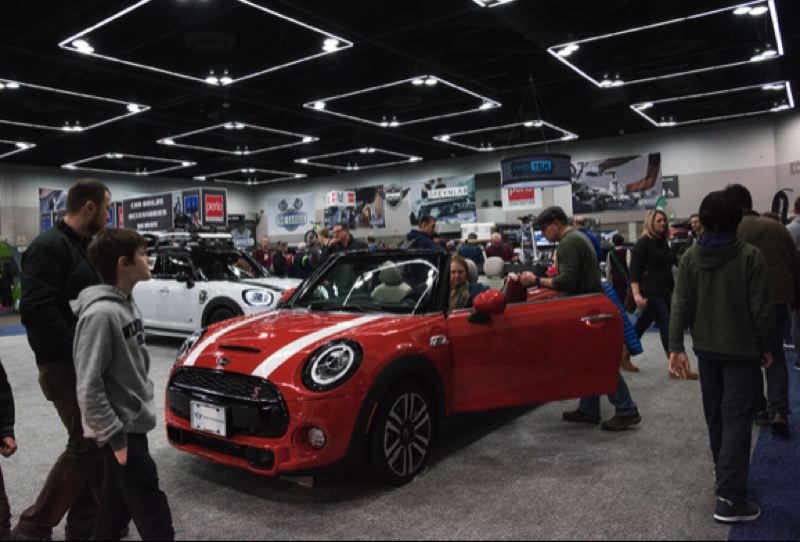 COURTESY MPNCDA - The annual Portland International Auto Show is the largest display of new vehicles in the Pacific Northwest.