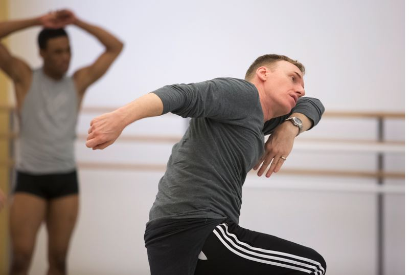 COURTESY PHOTO: BLAINE TRUITT COVERT - Kevin Irving is the third artistic director in Oregon Ballet Theatre's 30 years, and he praises longtime supporters, saying 'so many people have supported us for the entire history of the company — donors, season ticket holders.'