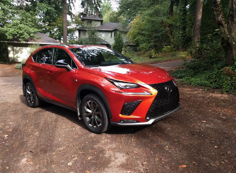 Pamplin Media Group 2020 Lexus Nx 300 F Sport Don T Tamper With Success
