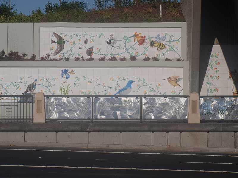 PMG FILE PHOTO - The City of Wilsonville is adding installations to document the history of the 'Beauty and the Bridge' project.
