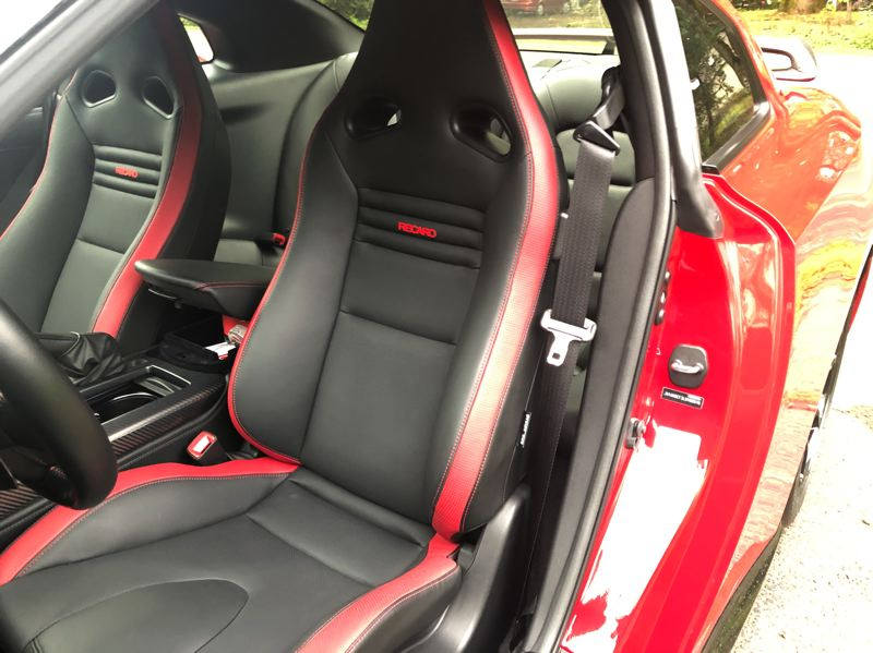 PMG PHOTO: JEFF ZURSCHMEIDE - The Recaro sport seats are well-bolstered to support your body in hard cornering.