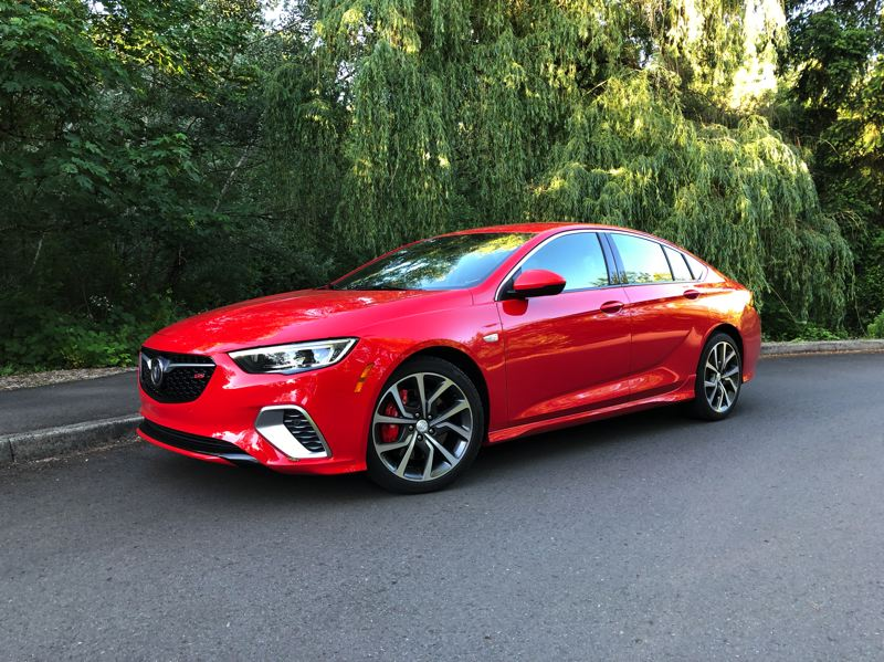 PMG PHOTO: JEFF ZURSCHMEIDE - The Regal comes in many trims, but sport driving enthusiasts should go straight to the GS trim. This model comes equipped with a 3.6-liter V6 engine rated at 310 horsepower and 282 pound-feet of torque.