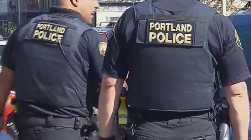KOIN 6 NEWS - Portland police on patrol.