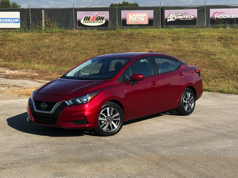 PMG PHOTO: JEFF ZURSCHMEIDE - The 2020 Nissan Versa offers comfort, advanced technology, great performance, and a well-equipped version can be purchased for less than $20,000.