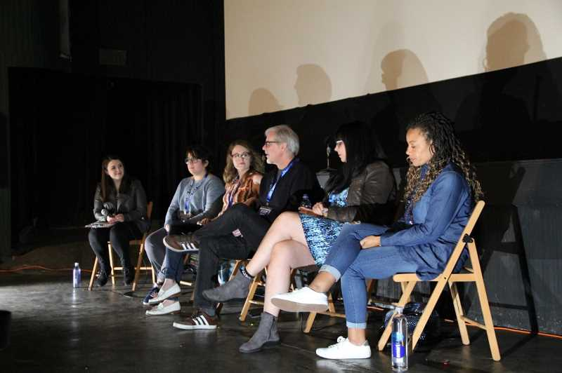COURTESY PHOTO: BRENDAN SWOGGER  - Last years festival drew submissions not only from local students around the Portland area, but from filmmakers as far as Germany and Iran.