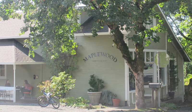 PMG PHOTO: BILL GALLAGHER - Special dinners will be served on October 18, November 15 and December 13 at Maplewood Coffee and Tea.