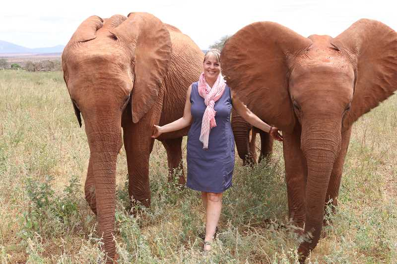 Debbie Ethell says elephants resemble humans in many ways, and that weve only touched the tip of the iceberg when it comes to understanding them.