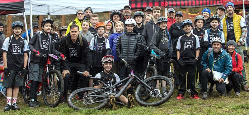 COURTESY PHOTO - Riders from the Lake Oswego Composite mountain biking team have already made their marks in their first year of competition in the Oregon Interscholastic Cycling League.