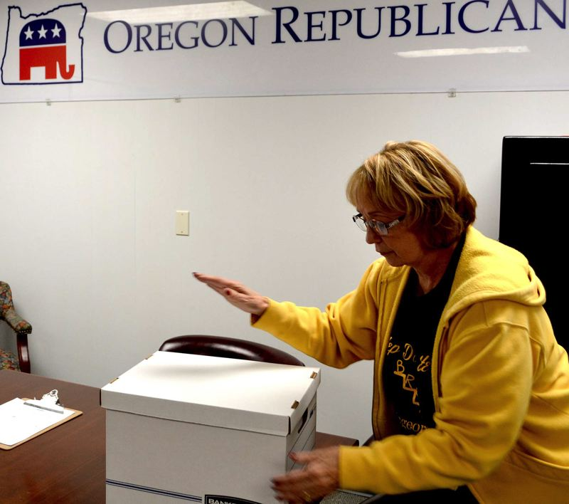 CLAIRE WITHYCOMBE: OREGON CAPITAL BUREAU