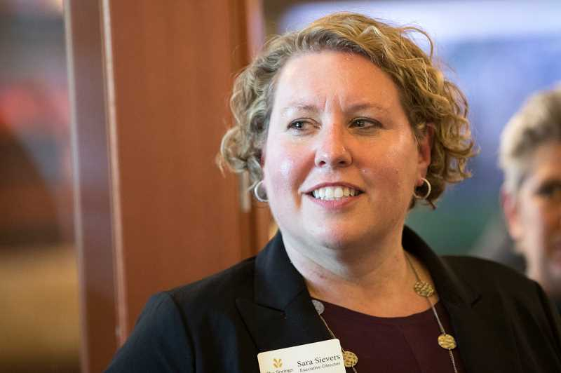 PMG PHOTO: JAIME VALDEZ - Sara Sievers, the recently appointed executive director of The Springs at Sherwood, said shes looking forward to her new position.