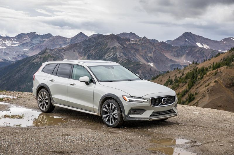 COURTESY VOLVO CAR COMPANY - The 2020 Volvo V60 Cross County is a beautifully styled, exciting to drive station wagon with genuine off-road capabilities.