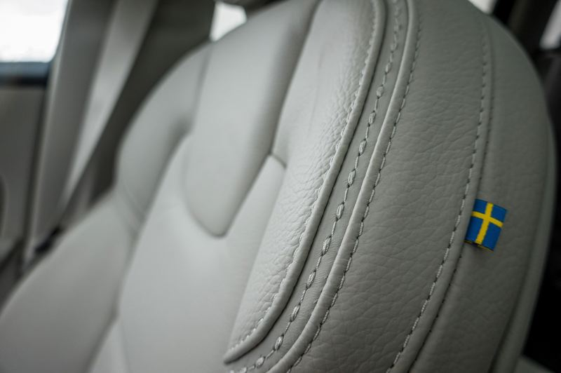 COURTESY VOLVO CAR COMPANY - The quality of the craftsmanship is apparent in every detail.