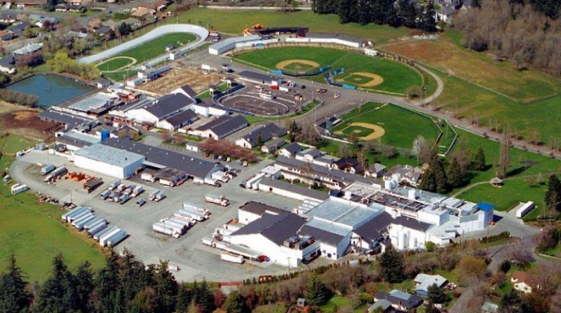 KOIN 6 NEWS - An view of the Alpensrose Dairy and sports complexes.