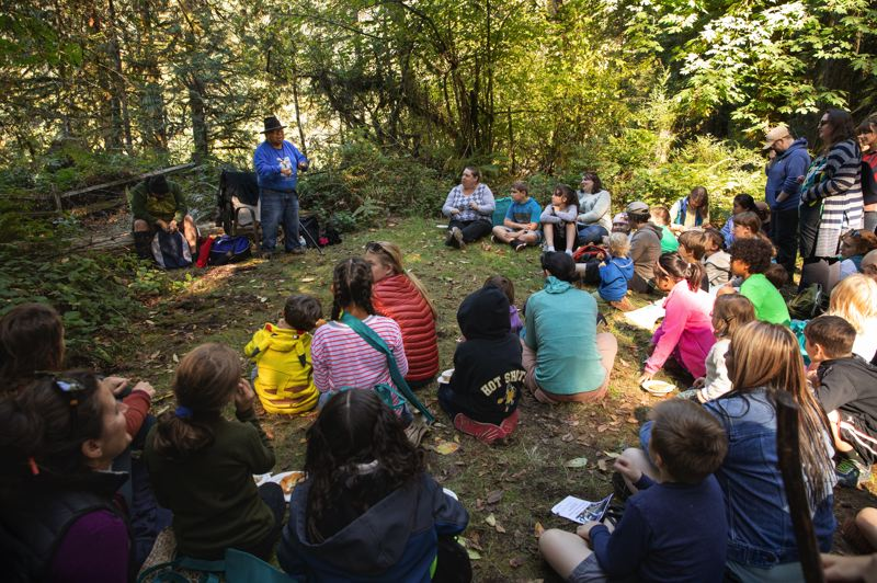 COURTESY PHOTO: METRO REGIONAL GOVERNMENT  - Storytelling by Indigenous community members is among the highlights of the annual Salmon Homecoming celebration comin up this weekend at Oxbow Regional Park.