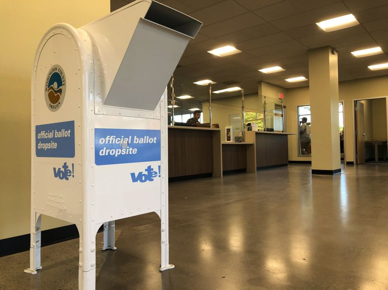 The new Washington County Elections Office is located at 2925 Northeast Aloclek Drive, Suite 170, Hillsboro.