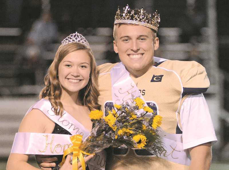 King and queen announced at Canby homecoming game