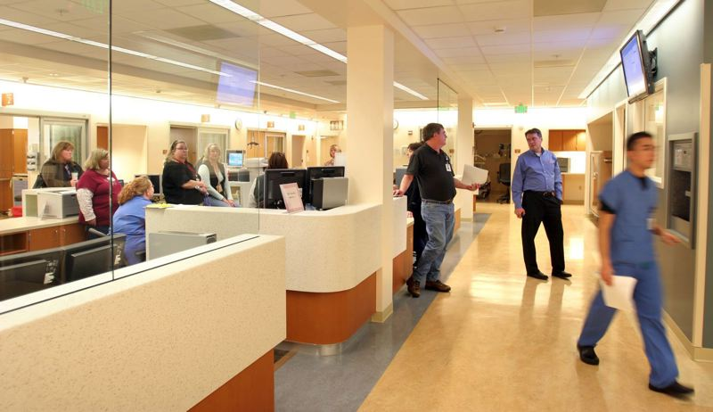 PMG FILE PHOTO - Oregon's health care industry was one of the few bright spots in September's employment numbers. The state produced only about 200 jobs overall in September, officials said.