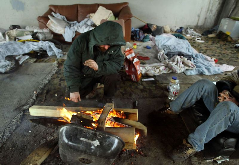 PMG FILE PHOTO - According to the most recent survey, the number of unsheltered homeless people also increased in Multnomah County this year.