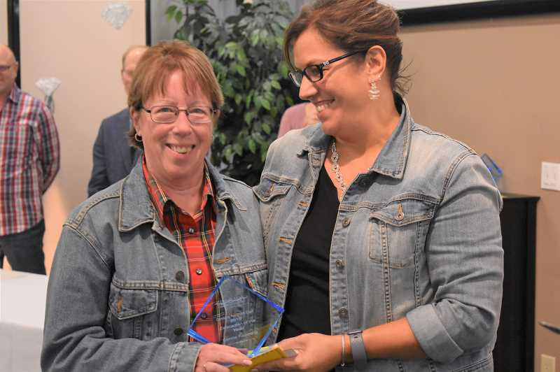 Chamber event highlights people who support the community
