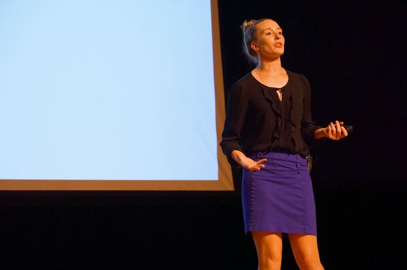 COURTESY PHOTO: JESSI BEYER - Jessi Beyer is a personal development speaker and coach who grew up outside Banks and travels around the country for her business.
