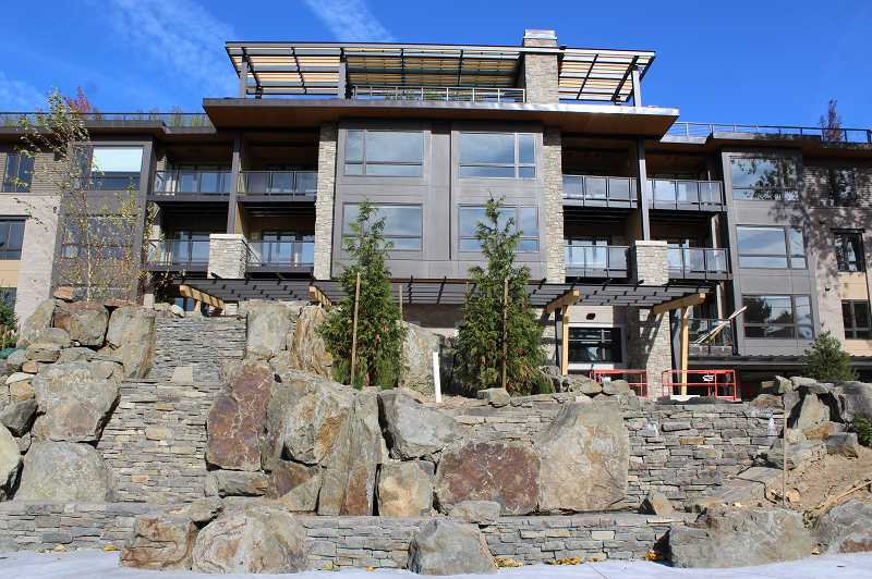 PMG PHOTO: CLARA HOWELL - The Springs Living at Lake Oswego is set to open in November.